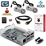 Raspberry Pi 3 Model B Gaming & Media System Pre-Loaded with RetroPie and Kodi
