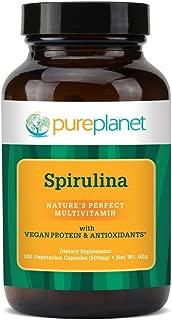 Pure Planet, Spirulina, 100 Tablets