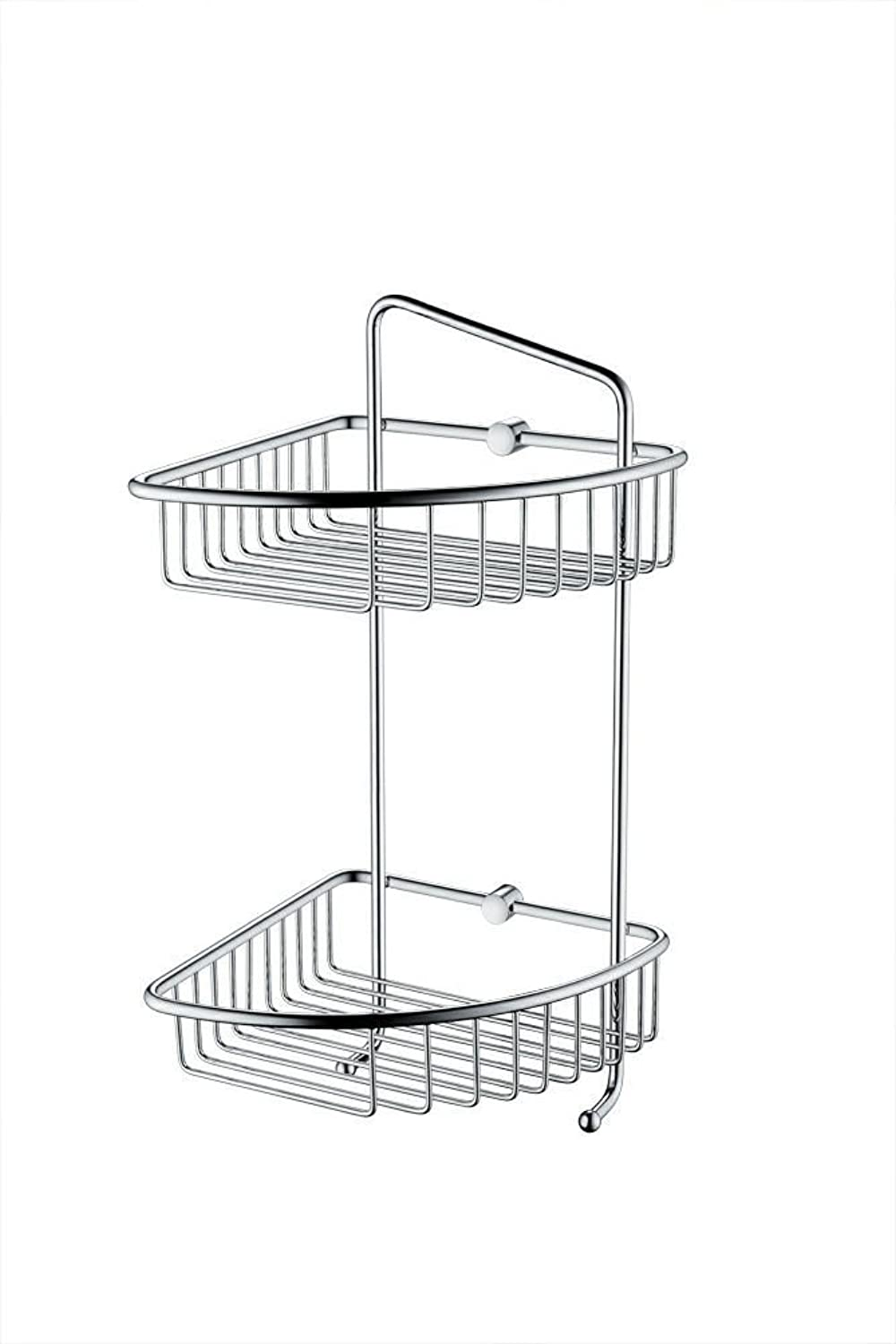 XAH@ Kaiping hanging bathroom double copper wire with hook hook 200 large corner double basket , 20020060320mm