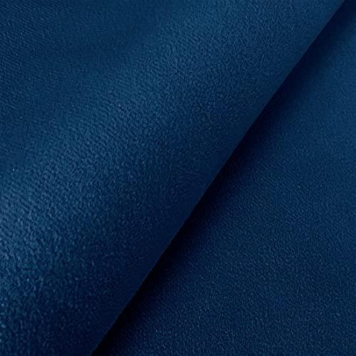 HEKO PANELS Tessuti e Stoffe a Metro Arredo Tessuti per Tappezzeria per Divani Sedie Cuscini e Poltrona - Stoffa al Metro Fatto di 100% Poliestere Resistente allo Strappo - Blu