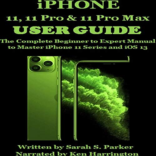 iPhone 11, 11 Pro & 11 Pro Max User Guide cover art