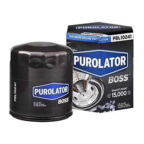 Purolator PBL10241 PurolatorBOSS Maximum Engine Protection Spin On Oil Filter, Black