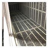 Rete Di Protezione Per Balconi Da Giardino Previene Gli Aironi Protegge Gli Alberi Del Frutteto Reti Per Prato Recinzione In Rete Di Plastica Recinzione In Rete, Bian(Size:0.8CM Aperture,Color:bianca)