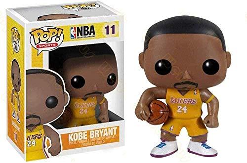 WENJZJ Pop! NBA Superstar: LAL # 11 Kobe Bryant No.24 Idee Regalo Figura da Collezione