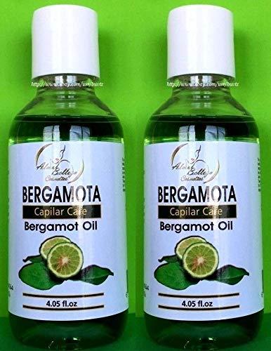2X Aceite De BERGAMOTA Capilar Care Bergamot Oil Great for Beard &Moustage 4.05 oz Each !