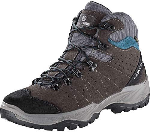 SCARPA Mistral GTX, Stivali da Escursionismo Alti Uomo, Smoke-Lake Blue Gore-Tex Energy II,...