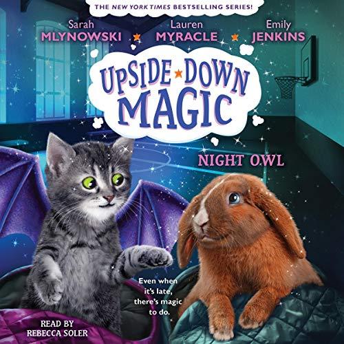 Night Owl Audiobook By Emily Jenkins, Lauren Myracle, Sarah Mlynowski cover art