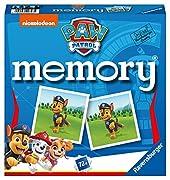 Memory - ein Spiel für die ganze Familie: Hier sehen die Kinder die sechs bekannten Hundewelpen Chase, Marshall, Rocky, Zuma, Rubble und Skye mit ihren coolen Fahrzeugen und viele ihrer Freunde Die Spieler entdecken ihre Lieblings-Hundewelpen aus der...