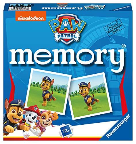 Ravensburger- Grand memory®- Pat'Patrouille - Jeu Educatif- A partir de 4 ans- 20743