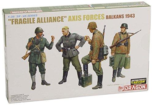 Dragon - D6563 - Maquette - Soldats de l'axe - Echelle 1:35