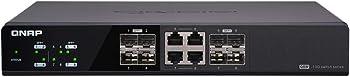QNAP QSW-804-4C 8-Port 10 Gigabit Ethernet Unmanaged Switch