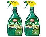 Ortho Weed B Gon Weed Killer, 24oz, RTU Trigger, Pack of 2