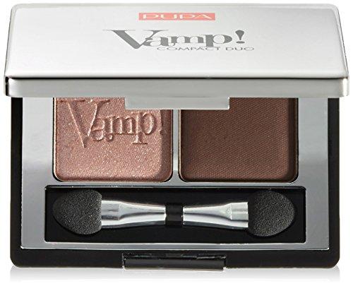 PUPA/Milano Vamp! Compact Duo Eyeshadow 002 Pink Earth, 4,8 g