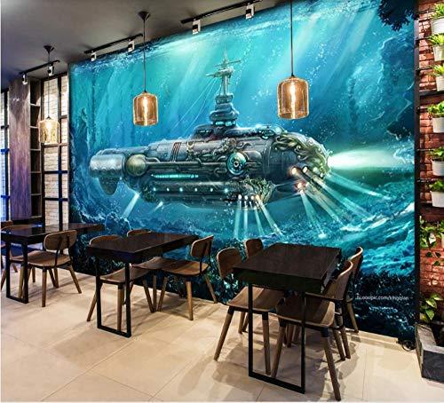 fototapete 3d effekt wand dekoration vlies Tapete moderne dekoration wanddeko Wandbilder 250x175cm U-Boot Sci-Fi