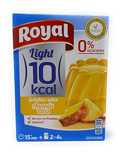 Royal - Gelatina sabor Pina (Ananas) Light - por 1 litro