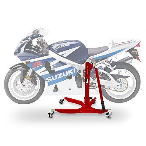 ConStands Power Classic-Zentralständer Suzuki GSX-R 750 00-03 Rot Motorrad Aufbockständer Heber Montageständer