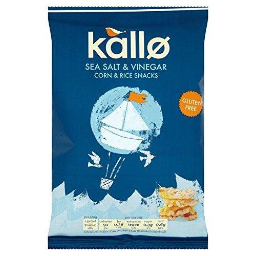 Kallo Salt & Vinegar Mini Corn & Rice Cakes 25g