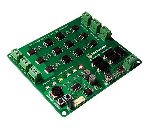 Traffic Light Controller/Sequencer 6-Channel Programmable, Crosswalk & Arrows