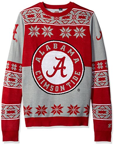 Alabama Big Logo Ugly Crew Neck Sweater Large