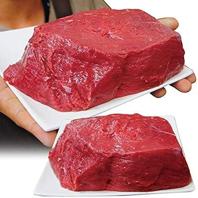プライム対応 牛肉もも肉 1kg ブロック 冷凍品 豪州産 ローストビーフやステーキ用に 【煮込み】【赤肉】【赤身】【ランプ】【アメリカンビーフ】【モモ肉】