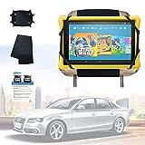 LONANDY Car Headrest Holder, Tablet Car Holder for Kids, Car Headrest Mount Silicon Holder Compatible with Nintendo Switch & 7-10.5 Inch Tablets
