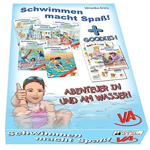 Schwimmen macht Spaß!-Box: Mit vielen Goodies