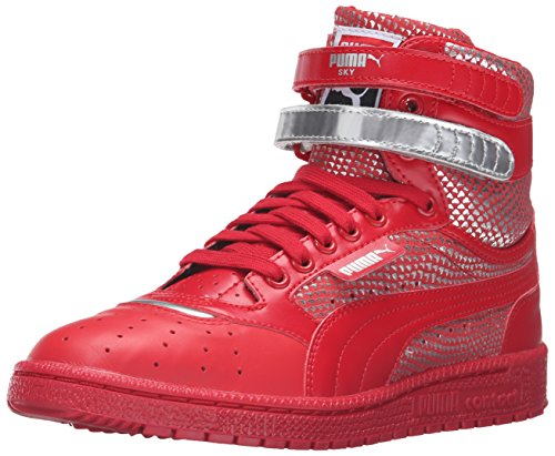 PUMA Women's Sky ii hi Futur Minimal WN's Basketball Shoe, Barbados Cherry, 6.5 M US
