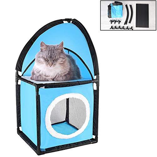 Oncpcare kat huis kubus, stapelbed kat Condo bed kat schuilplaats grot gemonteerd kat tent hoek nachtkastje rusten verbergen
