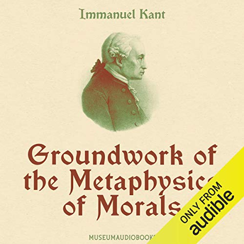 Groundwork of the Metaphysics of Morals  By  cover art
