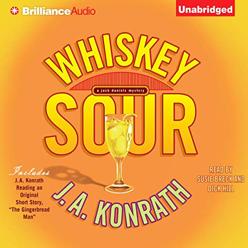 Whiskey Sour audiobook cover art