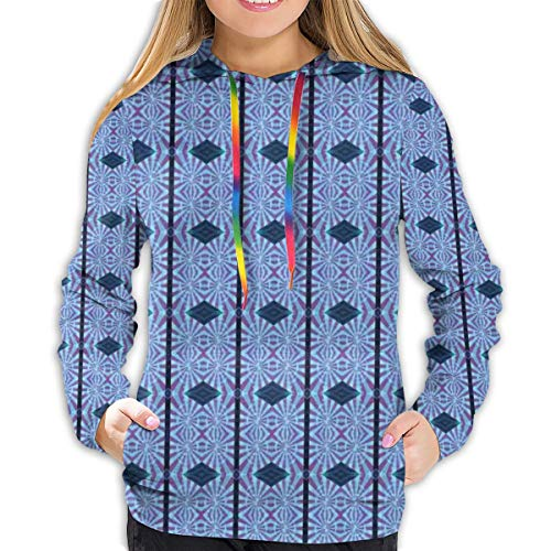 fttuty women's hoodies tops,kaleidoscopic pattern with vertical stripes and rhombuses,lady fashion casual sweatshirt,m a167 adidas pullover bekleidung damen pullover c 1_12 #5