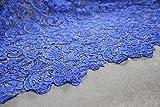 G3Royal Blau Guipure-Spitze Bridal Spitze 120cm