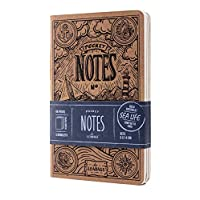 LEABAGS Pocket Notes Deco