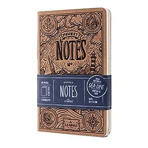 51YHtaA7n1L. SS300  - Leabags - Cuaderno de notas (68 páginas, 9 x 14 cm)