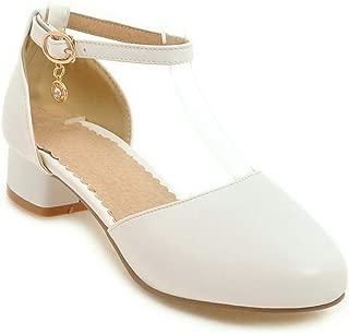 BalaMasa Womens ASL06837 Pu Heeled Sandals