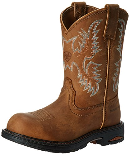 Ariat Women's Probaby Lacer Western Cowboy Boot, Driftwood Brown, 10 B US