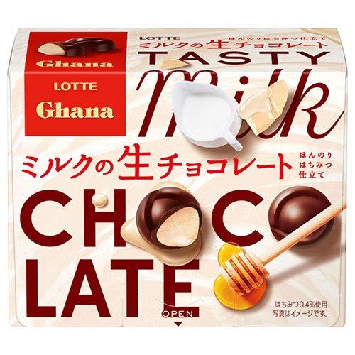 ロッテ ガーナ ミルクの生チョコレート 64g×6箱入×(2ケース)