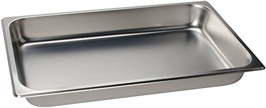 "2 1/2"" Deep, Full Size Standard Weight Economy Stainless Steel Steam Table / Hotel Pan"