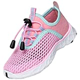 SAGUARO Zapatos de Agua Niñas Escarpines para Niños Zapatos de Playa Niños Transpirable Escarpines de Natación Zapatos de Exterior Verano Rosa Gr.32