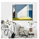 Suuyar Edward Hopper Zimmer am Meer Wandkunst Leinwand