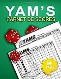 Yam's Carnet de scores: Yam Bloc Jeux de Societe | Yam's Carnet de score pour jeux familial | 130 grilles à remplir