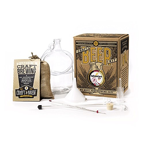 Craft A Brew Home Brewing Kit for Beer – Craft A Brew Hefeweizen Beer Kit – Starter Set 1 Gallon...