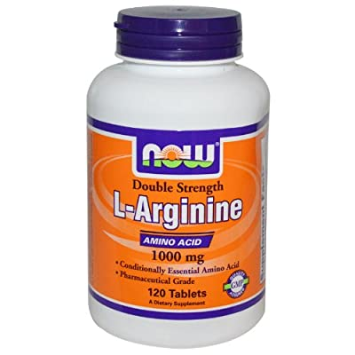 L-Arginine, 1000 mg, 120 Tablets - Now Foods - UK Seller from Now Foods
