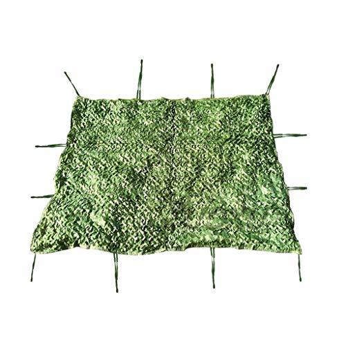 ZHJBD Camouflage Camo Netting, bos woestijn camouflagennet rolluiken voor de camping militair jachtschieten zonwering net camouflage-feestdecoratie themed restaurant decor groen