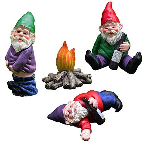 Fairy Drunk Garden Gnomes, Garden G…