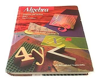 Algebra  Structure and Method Book 1 Teacher s Edition