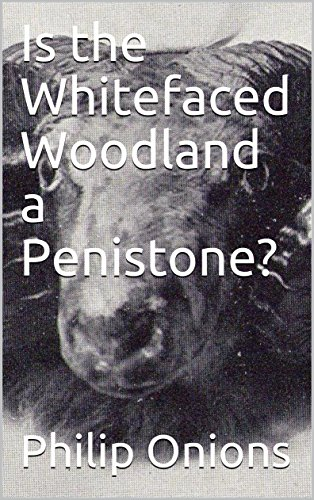 Is the Whitefaced Woodland a Penistone? (Whitefaced Woodlands Book 1) (English Edition)