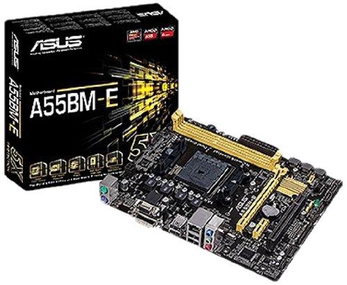 Asus A55BM E Mainboard Sockel FM2 ATX AMD A55 6x SATA II 2x DDR3 Speicher DVI D 4x USB 20