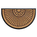 """Shell Coir and Rubber Heavy-Duty 24"""" X 36"""" Over-Sized Doormat"""