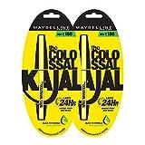 Maybelline New York Colossal Kajal, Black, 0.35g (Pack Of 2)